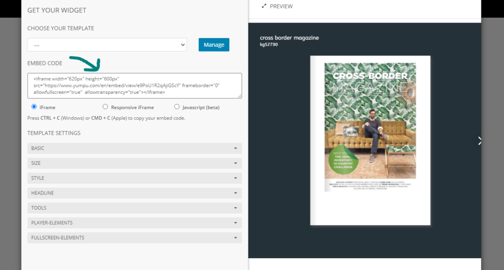 embed-code-flipping-book-html5