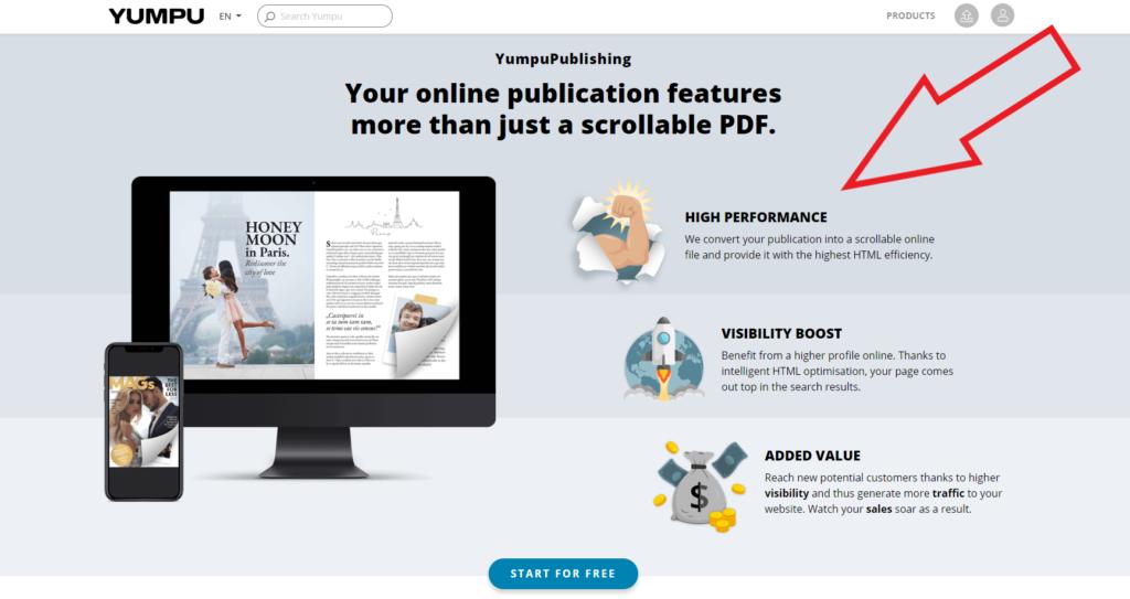 flipbook-wordpress-yumpu
